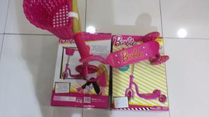 Monopatin Barbie De 3 Ruedas Totalmente Nuevos Y Sellados