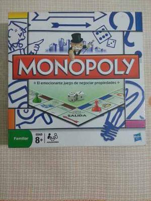 Monopolio Juego De Mesa Original De Hasbro Monopoly