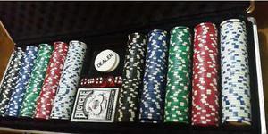 Oferta Fichas De Poker, Maletin Con 500 Fichas