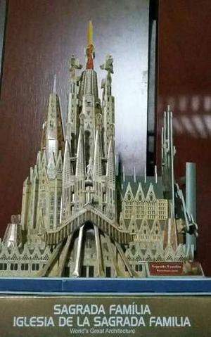 Puzzle 3d Iglesia Sagrada Familia