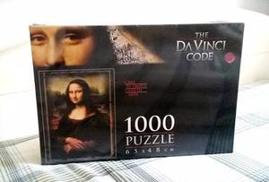 Rompecabezas Nuevo Codigo Da Vinci / Mona Lisa  Piezas