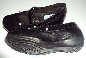 Zapato Colegial Escolar Cosido Talla 24 Al 40 Oferta