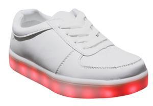 Zapatos Con Luces Led Usb Recargable Talla 28 A La 37