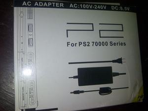 Adaptador De Corriente A/c Para Sony Playstation 2 Nuevo