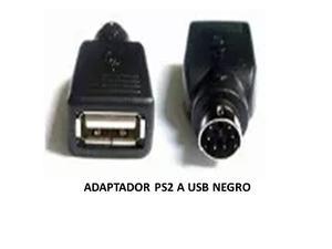 Adaptador Ps2 Macho A Usb Hembra Para Teclado O Mouse
