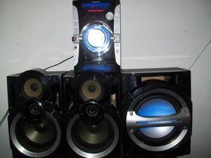 Equipo De Sonido Panasonic Mod. Sa Akx74 Super Woofer Negcbl