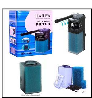 Filtro Interno Para Acuarios 400 L/h.