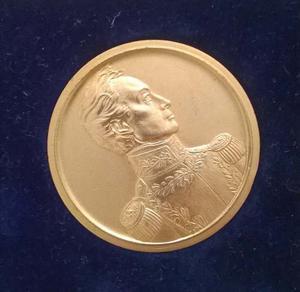 Medalla Colección Cavim Militar Simon Bolivar Libertador