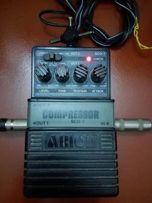 Pedal Compresor Para Bajo Electrico Arion