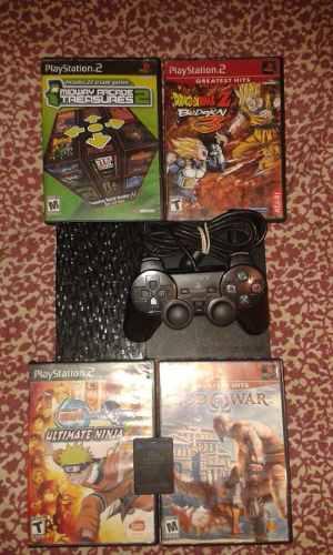 Playstation 2 Como Nuevo Con Poco Uso!