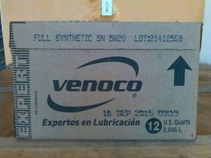 Vendo Aceite Sintético 5 W 20 Venoco