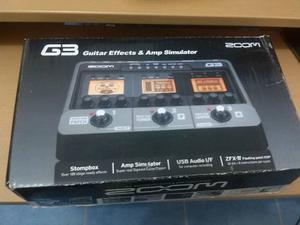 Zoom G3 Pedalera De Efectos Guitarra