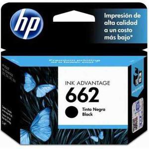 Cartucho Hp 662 Original Negro Cz103al Nuevo Bagc