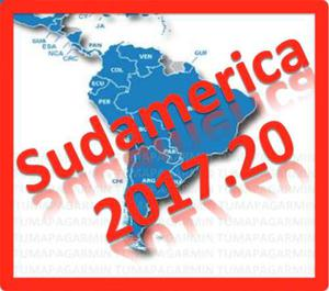 Mapa De Sudamerica Para Garmin Nuvi Y Venezuela De Este Mes