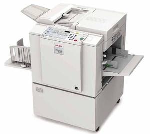 Master Para Copy Printer Ricoh - Gestetner