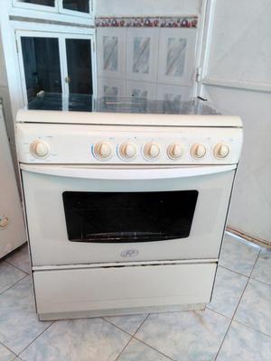 Cocina 6 hornillas doble horno electrolux posot class - Cocina con horno ...