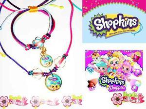 Collar Y Pulsera Shopkins