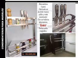 Condimentero Especiero De Lujo Con Portacuchillos Magnético