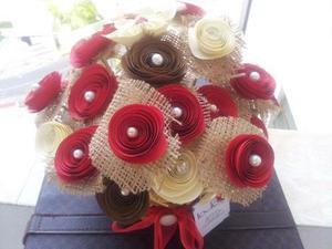 Flores De Papel. Arreglos-decoraciones-bouquets