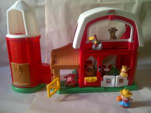 Juguete fisher price Granja animales divertidos