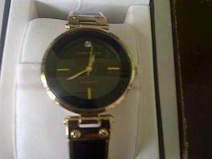 Reloj ANNE KLEIN, DIAMANTE GENUINO