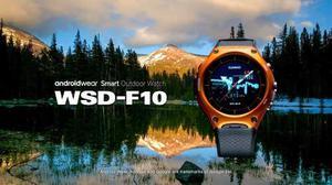 Video Oficial Del Reloj Casio® Android Wear Smart Wsd-f10
