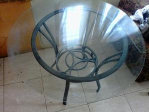 Vendo comedor de hierro y vidrio esmerilado posot class for Comedor vidrio 4 sillas