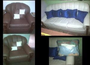 Muebles Bipiel De 5 Puestos + Forro