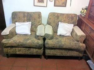 Muebles Sala O Recibo: Sillones Y Sofá 3 Puestos / Oferta