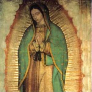 Virgen De Guadalupe Autentica De México.