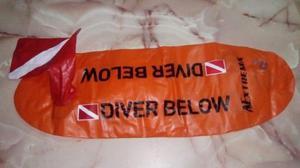 Boya Inflables De Seguridad Para Buceo/pesca