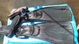 Chapaletas Sea Ques, Traje Buceo Henderson Zapatos Deep See