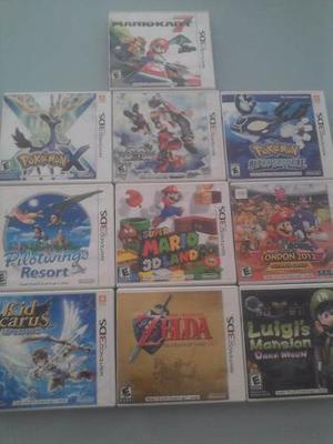 Juegos Nintendo 3ds. Originales