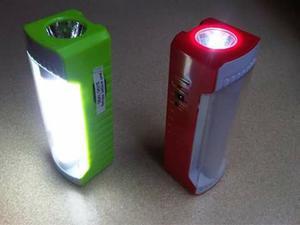 Lampara Linterna Led Emergencia Recargable Solar Y Dc 9 V.