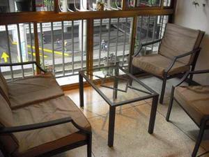 Muebles Recibo Sala Sofa Jardin Balcon Terraza Hierro