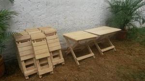 Sillas O Silletas Plegables De Madera Para Niños Fabricamos