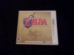 The Legend Of Zelda: Ocarina Of Time 3d Para 3ds