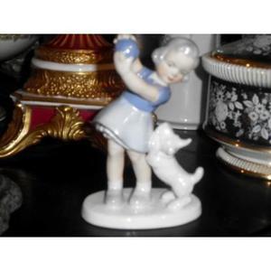 Bella Figura De Porcelana Gerold Porcelain Bavaria West Germ