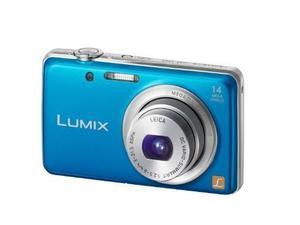 Cámara Lumix 14mp Con Accesorios Y Memoria De 8gb