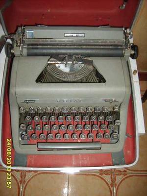 Maquina De Escribir Antigua Marca Royal Con Estuche Original