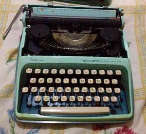 Maquina De Escribir Remington Easy-riter Sperry Rand. 60's