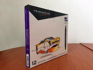 Marcadores Prismacolor Premier 12 Doble-punta Nuevo(sellado)