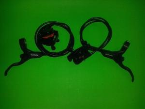 Par Frenos De Disco Hidraulico Shimano M396