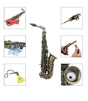 Saxofon Sax Alto Eb Con F# Oferta Nuevo Importado Negociable