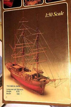 Velero Modelismo Naval Barco Morgan