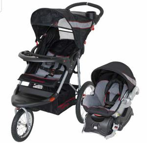Coche 3 Ruedas Baby Trend + Portabebe Unisex