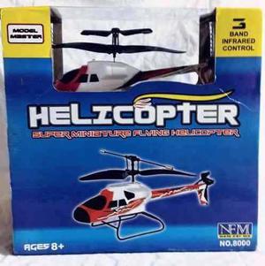 Helicoptero A Control Remoto Nuevo