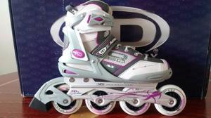 Patines En Linea Para Mujer Roller Derby Aerio Q-60