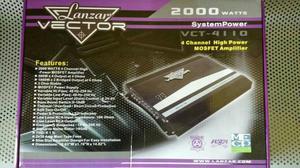 Planta Lanzar Vector watts 4 Canales