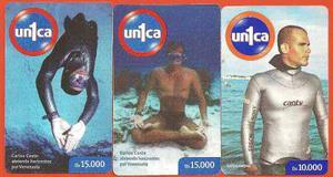 Set De Tarjetas Unica Carlos Costes, 3 Pz
